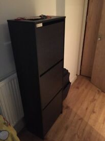 Shoe Rack + Chest of Drawers + Side Table