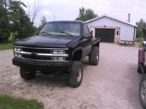 98 chevy lifted project