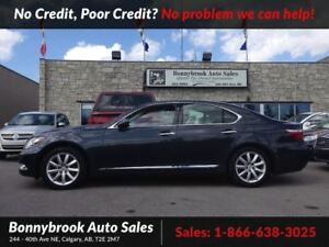 2009 Lexus LS 460 Base awd navi bluetooth leather vented seats