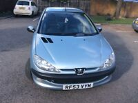 £595 AND £350 ! BARGAIN PEUGEOT 206 AND MICRA S