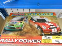 Micro Scalextric Rally Power Track and 1 car (just selling as extra track)