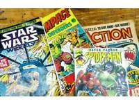 Old Marvel comics incl. Star Wars