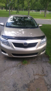 Toyota Corolla Sedan 2010 Bumper to bumper warranty included to