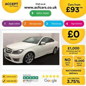 Mercedes-Benz C250 AMG FROM £93 PER WEEK!