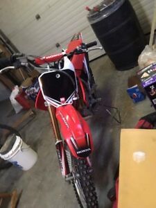2013 Honda CRF 150r big wheel edition