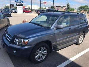 2007 TOYOTA HIGHLANDER HYBRID|LIMITED|LOADED|NAVI|LEATHER|