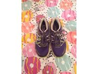 Asics Gel pulse 6 trainers size 3