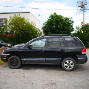 Hyundai Santa Fe 2005 en bon état