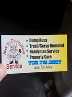 House, garage, yard , cleanup trash/ scrap removal ect ect