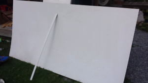4 x 8 sheet of ceiling panel to match most rvs and travel