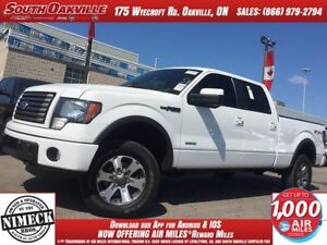 2011 Ford F-150 FX4   BEDLINER   HEATED LEATHER   SUNROOF