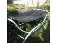 Garden bed hammock