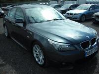 BMW 5 SERIES 2.0 520D M SPORT 4d 175 BHP (grey) 2007