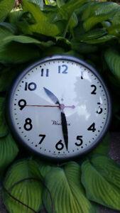 Vintage school Westclox clock
