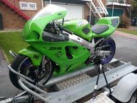Kawasaki ZX7 Track Day Bike