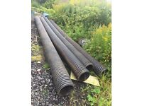 450mm x 6 meters drainage pipe