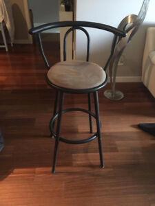 Black swivel bar stools $60 for all 3