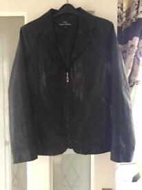 New Wallace Sacks leather jacket