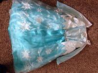 Original Disney Park Elsa Dress age 7 – 8 £15