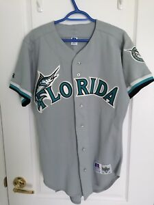 f81a22f55 Russell Athletic MLB FLORIDA MARLINS Jersey Size 40