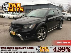 2016 Dodge Journey CROSSROADS SUNROOF NAVIGATION ALLOYS