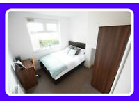 Modern En-suite in cosy 4-bed House Share, B32