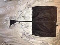 Criminal damage marble windbreaker coat