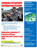 Canadian Citizenship Information Session