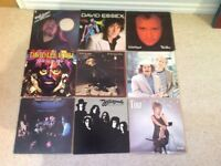 Eclectic mix of LPs vinyl records