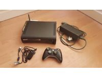 XBOX 360 with Wireless Controller, Wifi Adapter, PC controller adapter