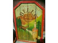 Rare BELL'S WHISKY Sign