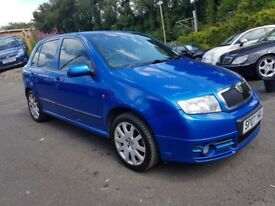 Skoda Fabia 1.9 TDI VRS PD 130PS (blue) 2007