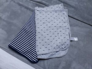 Two Carter Brand Baby Blankets