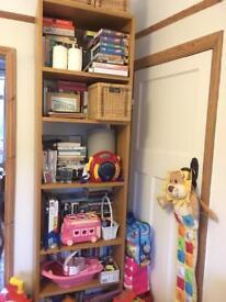 Oak Habitat Kuda Bookcase Bookshelf Brown