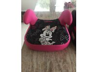 2 children's car booster seats