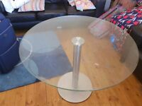 Lovely table in good condition and ready for removal.