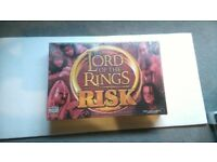 Lord of the Rings Risk Boardgame Original Packaging
