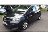 Toyota Yaris 1.4 D-4D TR (black) 2012