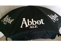 """Pub Style """"Abbot Ale"""" Garden Parasol"""