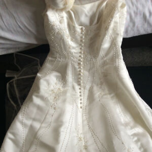 Princess wedding dress