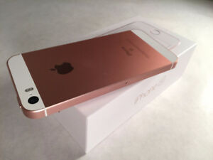 iPhone 5 SE 32gb Rose Gold VIRGIN/BELL