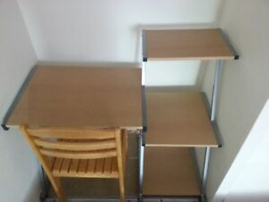 large and disassemble computer desk
