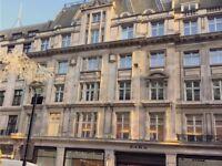 ●(Regent Street-W1B) Modern & Flexible - Serviced Office Space London!