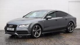 2013 Audi A7 2013 63 Audi A7 3.0TDI S Line Quattro Black Edition Diesel grey Aut