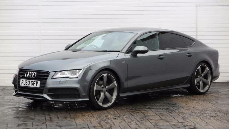 2013 audi a7 2013 63 audi a7 3 0tdi s line quattro black edition diesel grey aut in. Black Bedroom Furniture Sets. Home Design Ideas