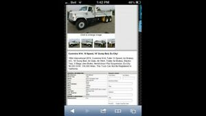 Ex California low mileage dump truck