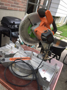 12 in. Rigid Compound mitre saw.