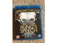 The Kings Speech Blu Ray