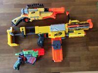 Next Gun Bundle x3 (all boxed) and Accessorises