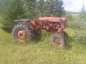 farm tractor and attachments for sale